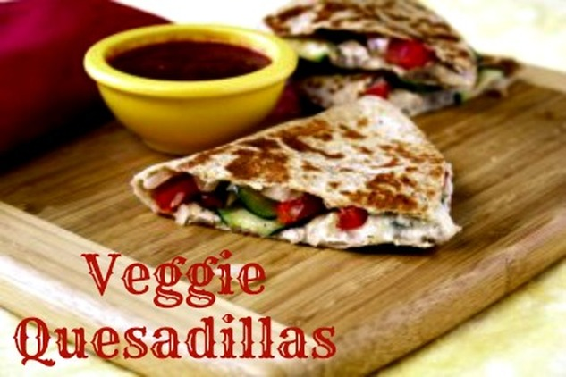 Veggie Quesadillas #Recipe