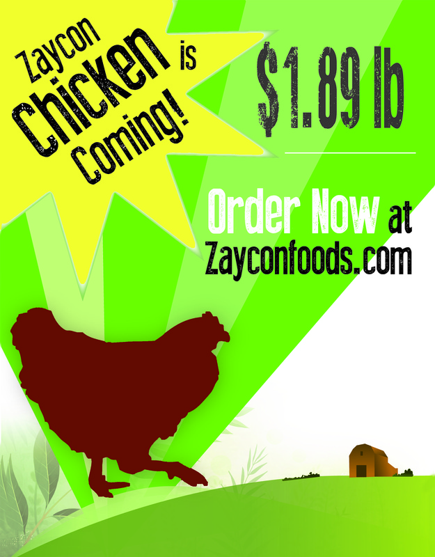 Zaycon Foods All Natural Chicken Only $1.89lb