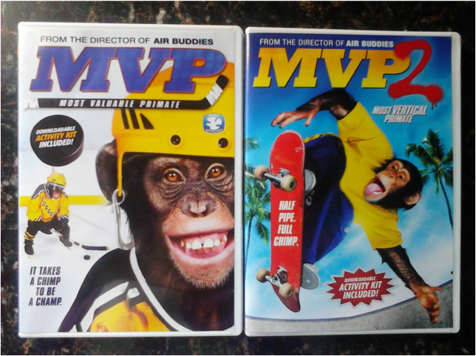 MVP I & II Most Valuable Primate DVD Release
