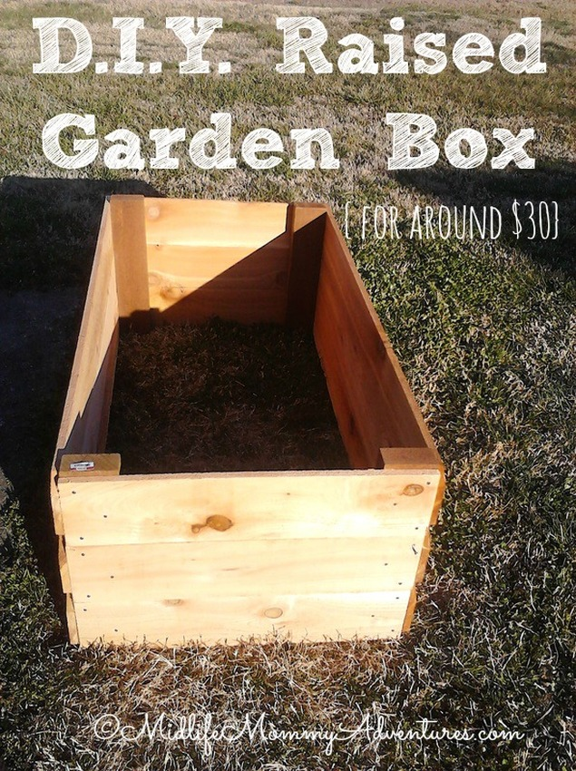 $30 DIY Raised Garden Bed