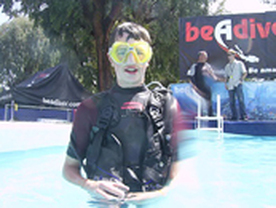 be a Diver Pool Scuba Experience