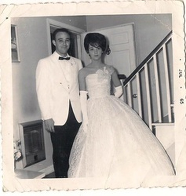 My beautiful Mom (and Dad). Prom 196(something)