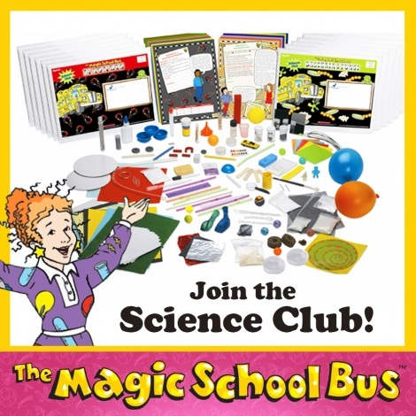 Join the #MagicSchoolBus Science Club  for 50% Off