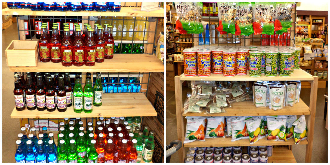 Food & Drink Selection at World Market