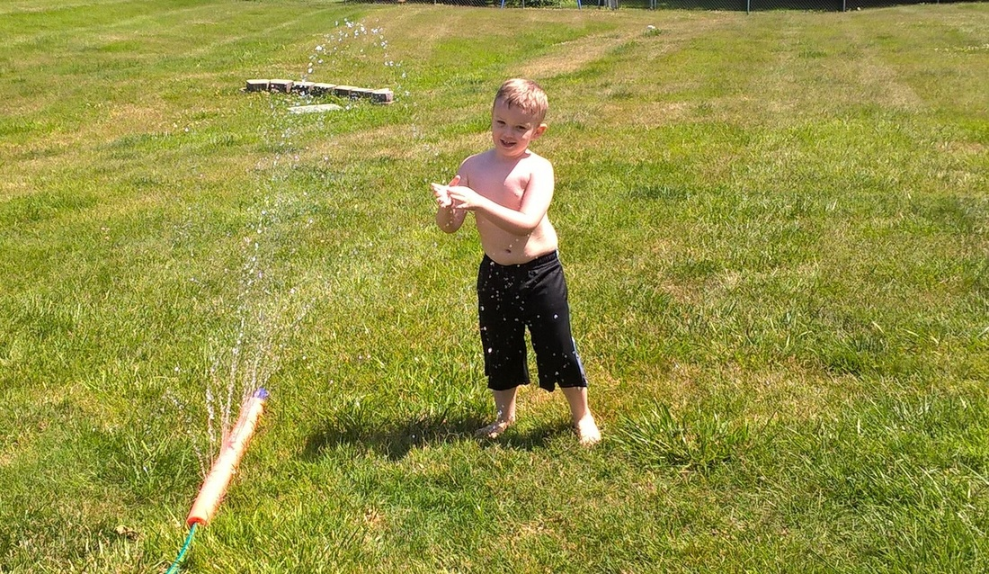 how to make your own water sprinkler