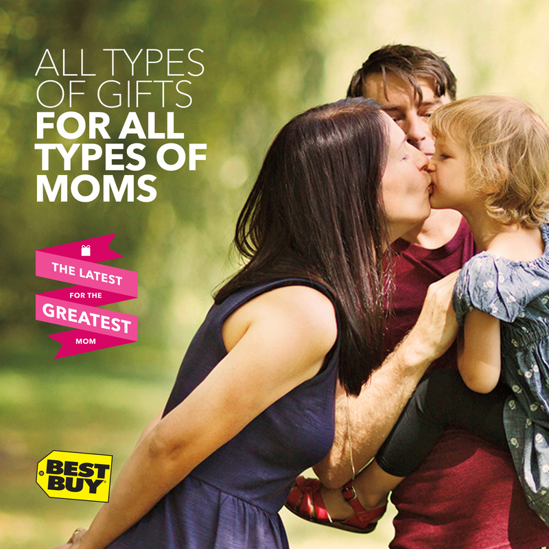 All types of gifts for all types of Moms #GreatestMom #BestBuy