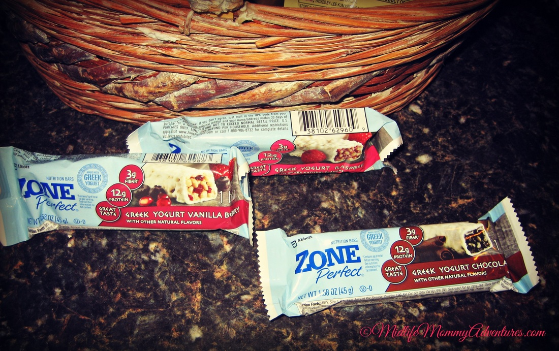 Zone Perfect Greek Yogurt Bars