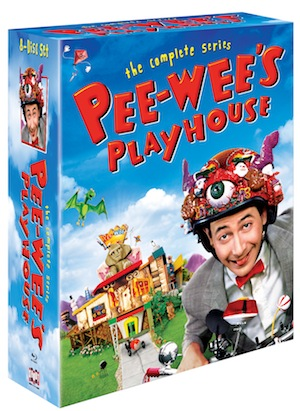 Pee-wee's Playhouse complete series on DVD 10-21