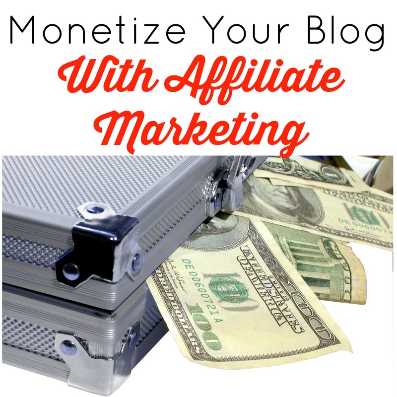 Monetize Your Blog With Affiliate Marketing
