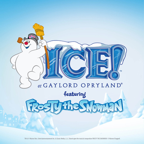 Frosty the Snowman at Gaylord's ICE!