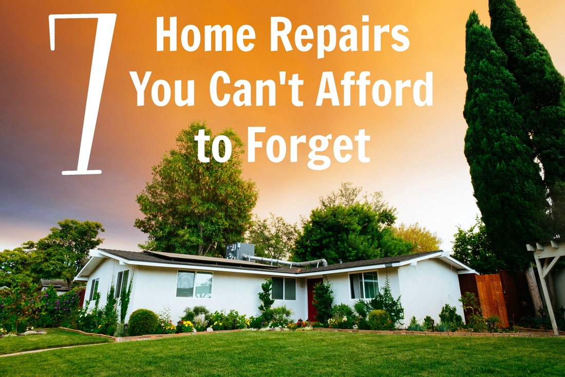 7 Home Repairs You Can't Afford to Forget #ad