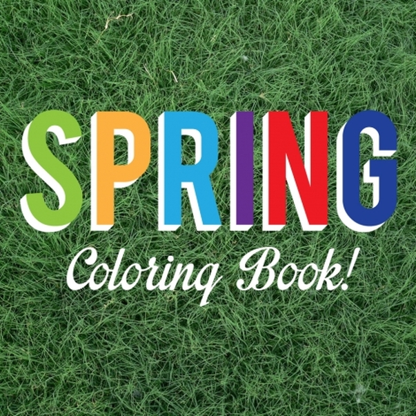FREE Spring Themed Coloring Book