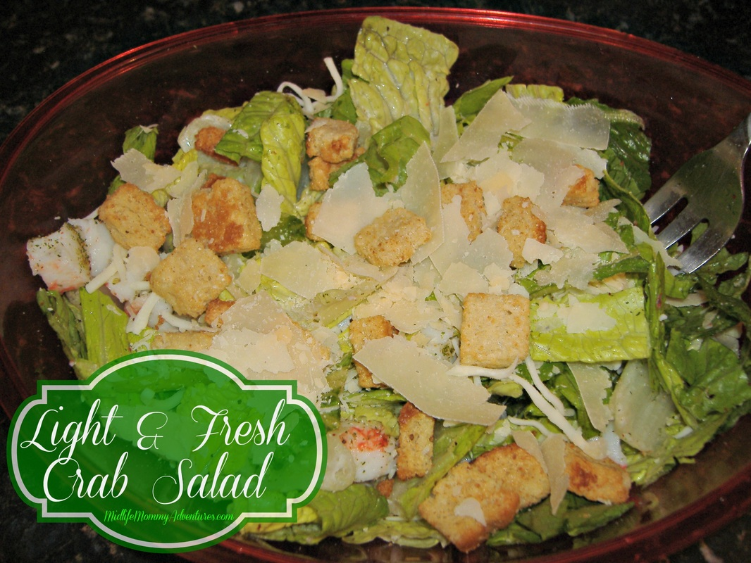 Light and Fresh Crab Salad