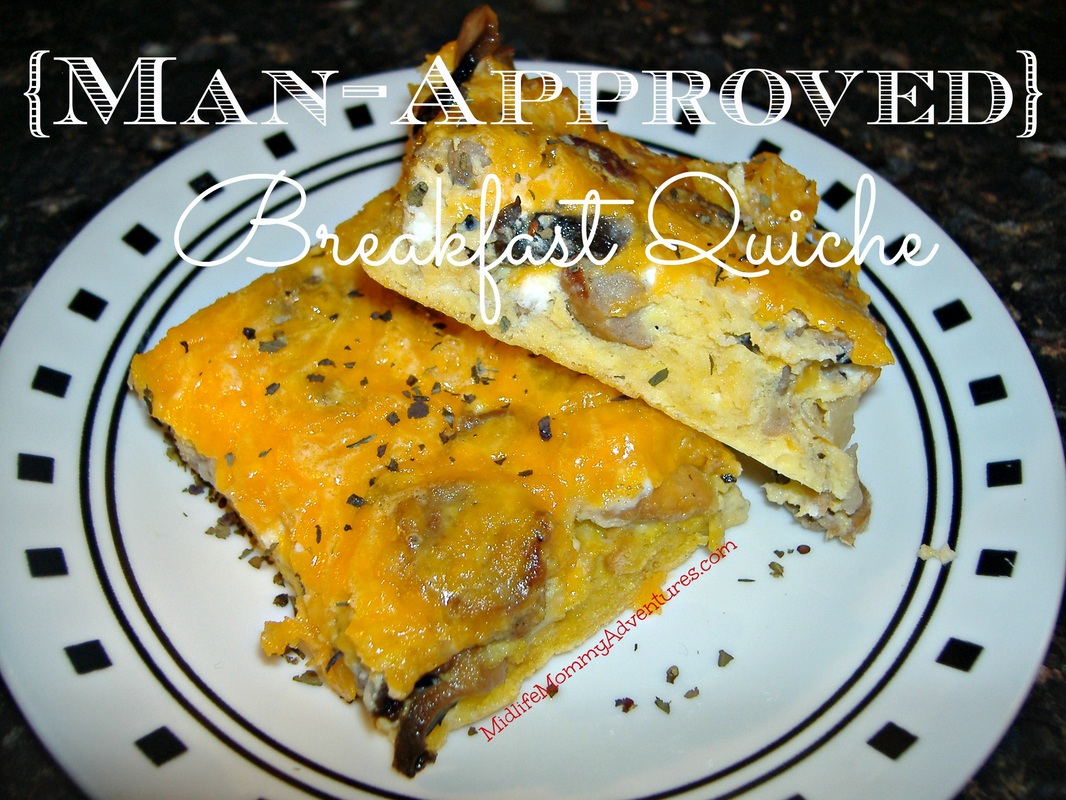 Man Approved Breakfast Quiche