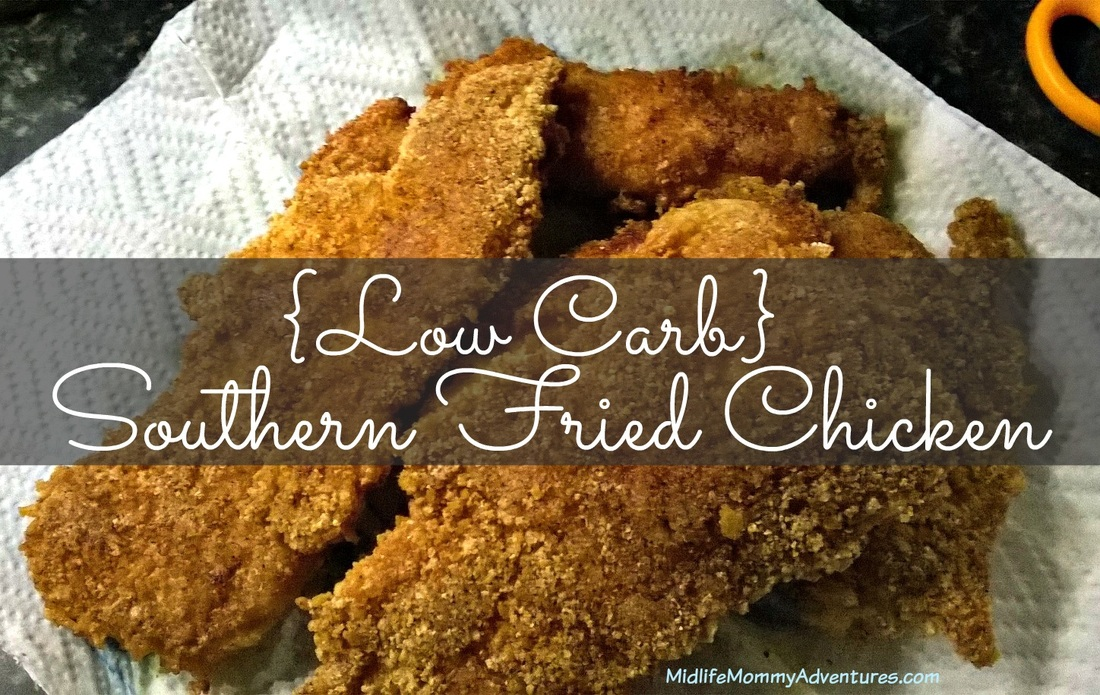 #LowCarb Southern Fried Chicken