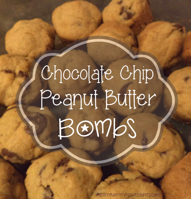 Chocolate Chip Peanut Butter Bombs