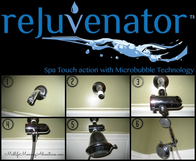 Rejuvenator Shower Head