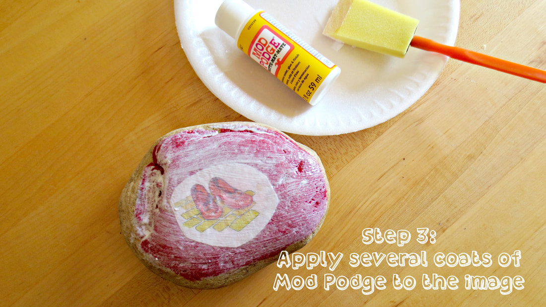 Rock Painting for the Artistically Challenged #Tutorial